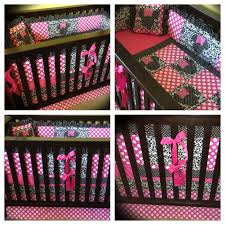 Crib Bedding Set Minnie Mouse Minnie Mouse Crib Bedding Set With Per Style By Modernstork