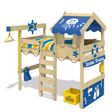 Haba Schreibtisch Blaue Kinder Hochbetten Mit 200 Cm Höhe Ebay