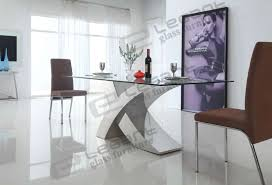 Black Gloss Dining Table And 6 Chairs Nevada 180cm Black And White High Gloss And Glass Dining Table