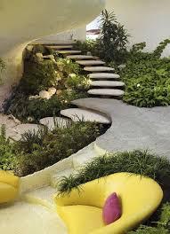 Interior Garden Space Age Modern House Jpg Image Javier Senosiain Interior