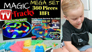 as seen on tv light up track mega magic glow tracks 18ft light up amazing as seen on tv youtube
