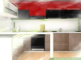 how to install a backsplash in the kitchen how to install a kitchen backsplash with pictures wikihow