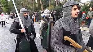medieval times thanksgiving middle ages warriors real parade medieval soldiers u0026 swords
