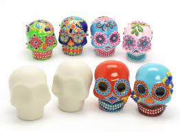 sugar skull cake topper day of the dead wedding cake toppers