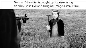 Cat In The Hat Meme - german ss soldier is caught by surprise during an ambush in holland