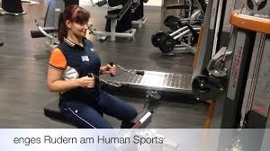 Sportpalast Bad Waldsee übung Der Woche Enges Rudern Am Human Sports Youtube