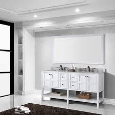 Marble Sink Vanity Virtu Usa Winterfell 72 Inch White Carrara Marble Sink