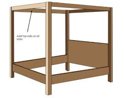 how to build a four poster bed frame ehow uk home dzine home diy how to make a diy 4 poster bed