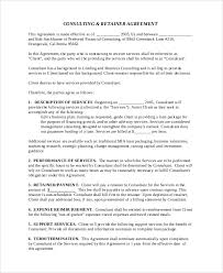 sample consulting services agreement 5 documents in pdf