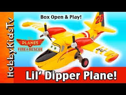 disney planes fire rescue dipper play hobbykid
