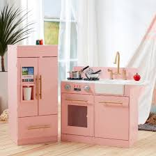 Kidkraft Urban Espresso Kitchen - teamson kids urban luxury play kitchen pink target