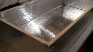 drop down attic stair insulation project youtube