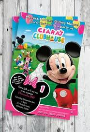 mickey mouse clubhouse printable invitations template u2013 invitetown