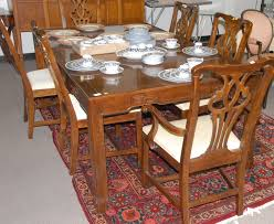Furniture Drexel Heritage Dining Tables Collections Dining Room - Drexel heritage dining room set