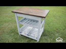 Kitchen Island Build How To Make A Kitchen Island Build Com Youtube