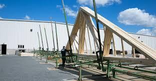 Prefabricated Roof Trusses Custom Roof Trusses Floor Trusses Wall Panels Dubell Lumber