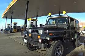 1995 jeep wrangler mpg 1995 jeep wrangler vs 100 mile mpg loop difflock episode 5