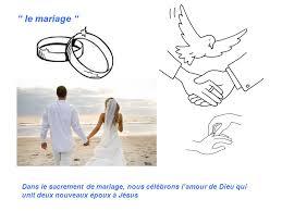 sacrement du mariage les sacrements ppt télécharger