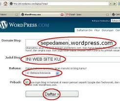 step by step membuat website sendiri cara membuat web site sendiri www sepeda wordpress com