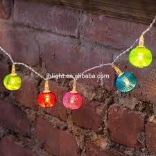 string of lights shabby chic floral led lit lanterns fairy lights
