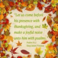 Bible Message On Thanksgiving Messages Wisdom4today
