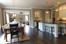 kitchen and dining room open floor plan amazing open kitchen dining room on 15 within concept floor plans