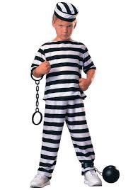 Orange Prison Jumpsuit Halloween Costume Kids Prisoner Costume