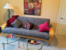 futon ideas futon lady s blog decorating ideas using a futon for the home