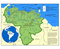 Map Curacao Maps Of Venezuela Detailed Map Of Venezuela In English Tourist