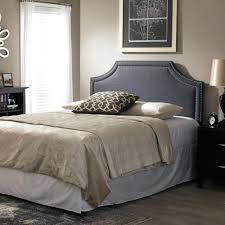 headboards grey upholstered king headboard foremost tessa gray