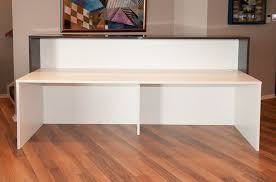 Plywood Reception Desk Solid Surface Reception Desk Tw Mart 125 The Most Trusted