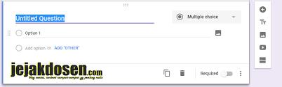 langkah membuat google form membuat kuesioner secara online dengan google form