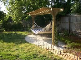 fabulous hammock pergola design custom pergola with hammock bazan
