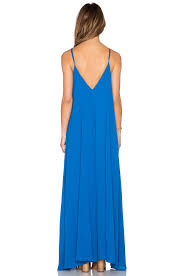 indah penda pocket maxi dress in blue lyst