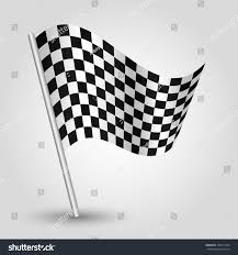 Images Of Racing Flags Vector Waving Simple Triangle Checkered Racing Stock Vector