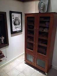 Mahogany Display Cabinets With Glass Doors by Custom Cigar Humidors Humidor Cabinets Cigar Cabinets