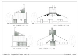 House Elevation Dimensions by Vanna Venturi Plan Dimensions Related Keywords U0026 Suggestions