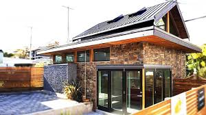 Energy Efficient House Plans by An Energy Efficient Contemporary Laneway House By Lanefab
