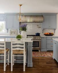 Gray Cabinets With White Countertops Best 25 Blue Gray Kitchens Ideas On Pinterest Grey House Paint