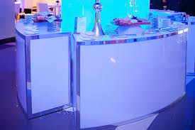 bar rental light up bar rental rent for weddings events in los