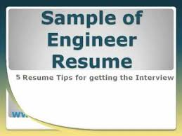 Example Of Video Resume by Sample Of Engineer Resume Youtube