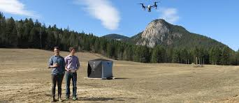 Current Wildfires In Canada by Hummingbird Drones Fights Wildfires With Aerial Technology