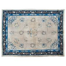 shabby chic area rugs vintage area rug shabby chic ivory and navy