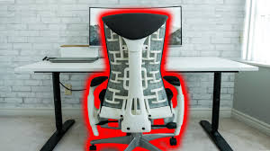 Desk Chair Herman Miller Ultimate Office Chair Herman Miller Embody Review Youtube