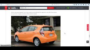 toyota account toyota prius c technology 2017 review youtube