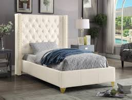 leather beds you u0027ll love wayfair