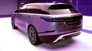 new 2018 range rover velar luxury suv exterior and interior