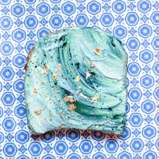 how to make mermaid toast instagram u0027s most magical food trend vogue