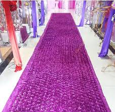 petal aisle runner new popular wedding favors fuchsia carpet 3d petal aisle