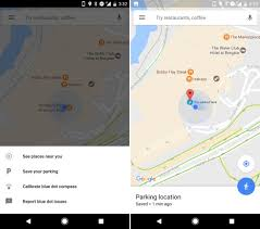 maps android you can now save your parking location on maps android